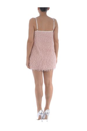 Little Dress by Le Voliere in jersey with pink fringes LE VOLIERE | 11 | D057PLPINK