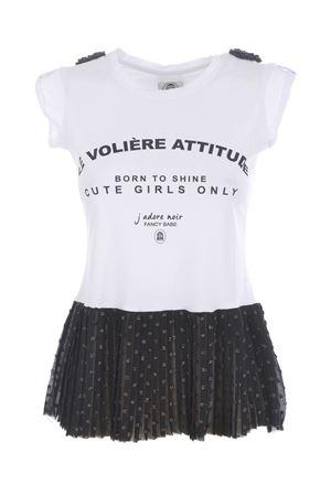 T-shirt Le volière LE VOLIERE | 8 | T008BPB&W