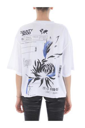 T-shirt Marcelo Burlon County of Milan flower shipping over MARCELO BURLON | 8 | CWAA054S20JER0030110