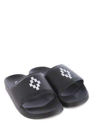 Pantofole donna Marcelo Burlon County of Milan cross sliders MARCELO BURLON | 5032249 | CWIA059S20PLA0011001