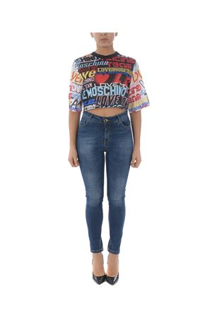 T-shirt cropped Love Moschino MOSCHINO LOVE | 8 | W4G9400M4163-4007