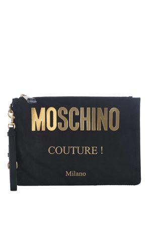 Bustina Moschino in tela di nylon MOSCHINO | 62 | B84078205-1555