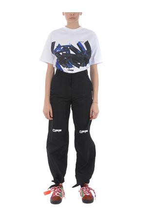 T-shirt Off White blue brushstroke tomboy OFF WHITE | 8 | OWAA072R20H841260130