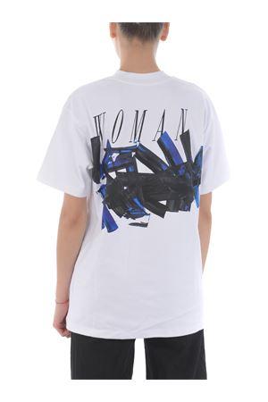 T-shirt Off White blue brushstroke tomboy OFF WHITE   8   OWAA072R20H841260130