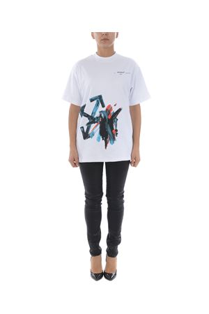 T-shirt Off White brushstroke arrow tomboy OFF WHITE | 8 | OWAA072R20H841280130