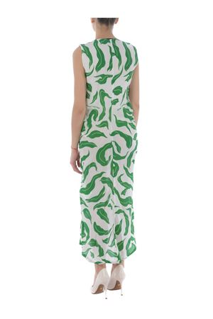Abito longuette Off White leaves illusion draping OFF WHITE | 11 | OWDB218R20H150900140