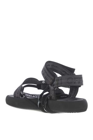 Off White multistrap micro thong sandals in webbing nylon OFF WHITE | 5032249 | OWIA214S20FAB0011000