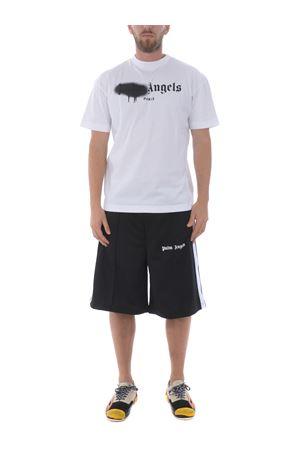 T-shirt Palm Angels paris sprayed logo PALM ANGELS | 8 | PMAA001S204130230110