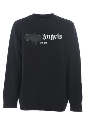 Felpa Palm Angels paris sprayed logo PALM ANGELS | 10000005 | PMBA001S206360571001