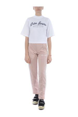 T-shirt crop Palm Angels beach club cropped PALM ANGELS | 8 | PWAA020S20JER0020246