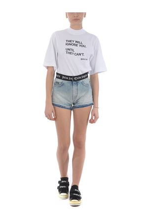 T-shirt crop Palm Angels statement cropped PALM ANGELS | 8 | PWAA020S20JER0080110