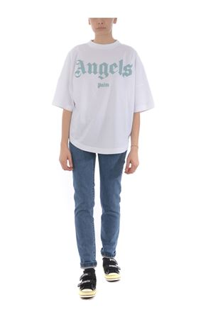 Jeans Palm Angels lb arch logo PALM ANGELS | 24 | PWYA009S20DEN0024001