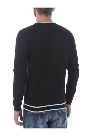 Paolo Pecora sweater in cotton thread PAOLO PECORA | 7 | A019F100-9000