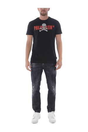 T-shirt Philipp Plein skull strass PHILIPP PLEIN | 8 | MTK4249PJY002N-213