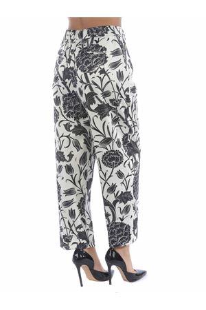 PT01 trousers daisy in stretch satin PT01 | 9 | CDVSDAZ00STDAP57-0015
