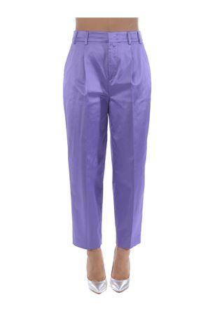 PT01 daisy trousers in cotton shantung PT01 | 9 | CDVSDAZ00STDEX12-0730