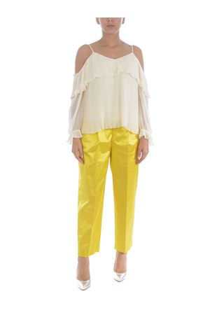 PT01 daisy trousers in cotton shantung PT01 | 9 | CDVSDAZ00STDEX12-0810