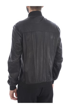 The Jack Leathers jacket in black leather THE JACK LEATHERS | 13 | WEDGE20