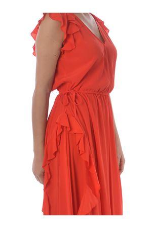 Twinset longuette dress in silk blend crepe de chine TWIN-SET | 11 | TP250D04607