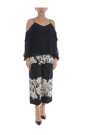 Twinset blouse in pleated georgette TWIN-SET | -96357801 | TT209000006
