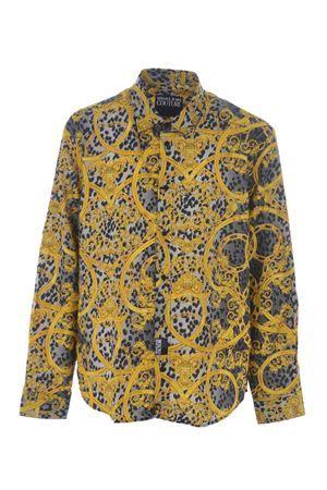 Camicia Versace Jeans Couture leo chain VERSACE JEANS   6   B1GVA6RASM200-899