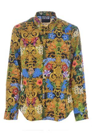Camicia Versace Jeans Couture jungle baroque VERSACE JEANS   6   B1GVA6S3SM700-983