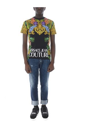T-shirt Versace Jeans Couture Jungle Baroque VERSACE JEANS | 8 | B3GVA7KA30329-899