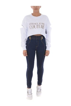 Felpa cropped Versace Jeans Couture VERSACE JEANS | 10000005 | B6HVA74T30318-K41