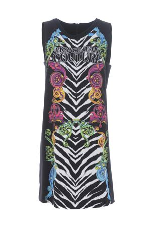 Abito Versace Jeans Couture tiger baroque VERSACE JEANS | 11 | D2HVB431S0796-983