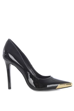 Versace Jeans Couture pumps in black patent leather.  VERSACE JEANS | 12 | E0VVBS0171335-899