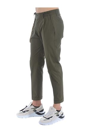Yes London stretch cotton trousers  YES LONDON | 9 | XP3069VERDE