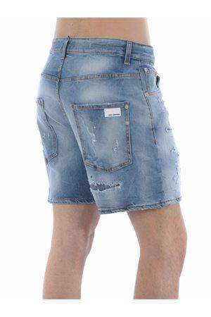 Yes London shorts in stone wash stretch denim.  YES LONDON | 30 | XS4037DENIM