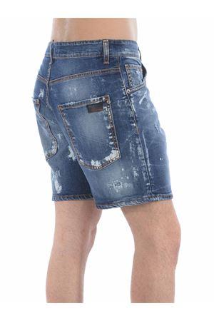 Yes London shorts in stone wash stretch denim YES LONDON | 30 | XS4052DENIM