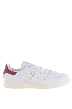 Sneakers uomo  Adidas Originals stan smith in pelle ADIDAS ORIGINALS | 5032245 | CQ2195FTWWHT-WHT-CBURG