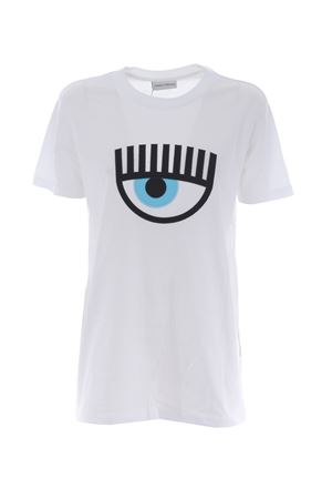 T-shirt Chiara Ferragni  eye CHIARA FERRAGNI | 8 | CFT040BIANCO