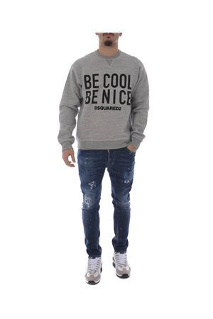 Felpa Dsquared2 be cool be nice DSQUARED   10000005   S71GU0236S25148-858M