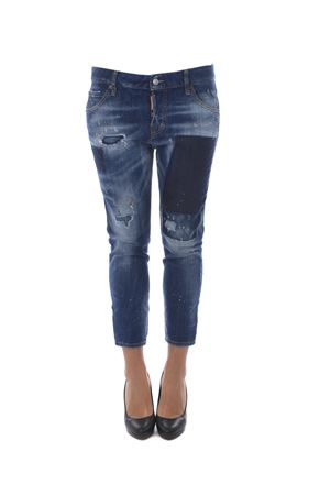 Jeans Dsquared2 cool girl cropped DSQUARED | 24 | S72LB0061S30342-470