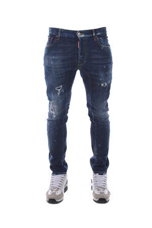 Jeans Dsquared2 tidy biker jean DSQUARED | 24 | S74LB0375S30342-470