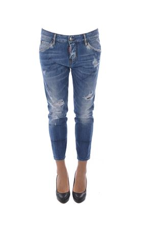 Jeans Dsquared2 cool girl cropped jean DSQUARED | 24 | S75LA0971S30309-470