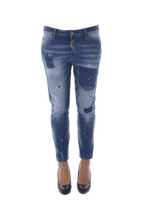Jeans Dsquared2 cool girl cropped DSQUARED | 24 | S75LA0973S30342-470