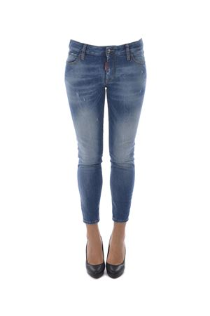 Jeans Dsquared2 medium waist cropped twiggy jean DSQUARED | 24 | S75LB0005S30595-470