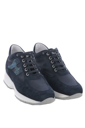 Sneakers donna Hogan Interactive H strass HOGAN | 5032245 | HXW00N02011FI70071