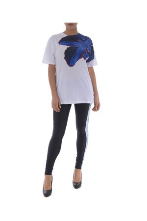 T-shirt Marcelo Burlon county of Milan blue flower MARCELO BURLON | 8 | CWAA016R180470030188