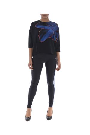 T-shirt cropped Marcelo Burlon county of Milan blue flower MARCELO BURLON | 8 | CWAB007R180470031088