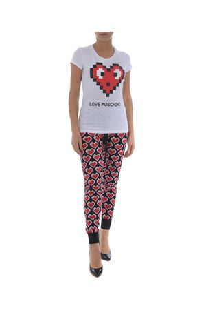 T-shirt Love Moschino cuore pixel MOSCHINO LOVE | 8 | W4B194BE1512-A00