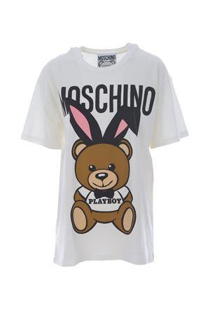 Maxi t-shirt Moschino orso playboy MOSCHINO | 8 | 0703540-1001