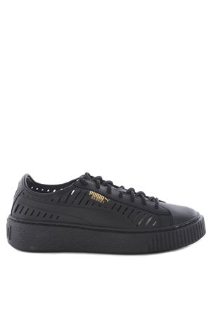 Sneakers donna Puma basket platform summer PUMA | 5032245 | 36519002BLACK