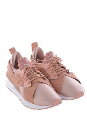 Sneakers donna Puma muse satin en point PUMA | 5032245 | 36553401BEIGE-WHITE