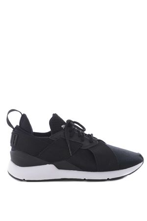 Sneakers donna Puma muse satin en point PUMA   5032245   36553403BLACK-WHITE