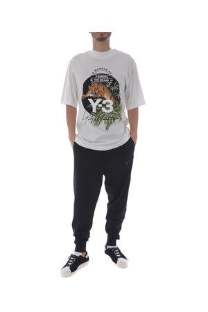 T-shirt Y-3 leopardo Y-3 | 8 | CY6860CORE WHITE